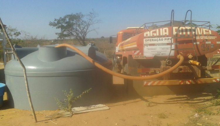 Operação Pipa em Caetité atende mais de 14 mil pessoas