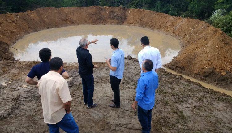 Executivos da empresa Eólicas Caetité e do banco BNDES visitam projetos em Caetité
