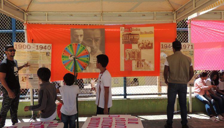 Escolas do distrito de Caldeiras realizam culminância de projeto sobre Anísio Teixeira