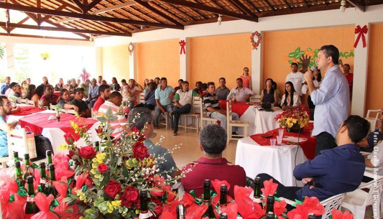 Confraternização da Associação Viva foi realizada nessa sexta-feira (01/12)