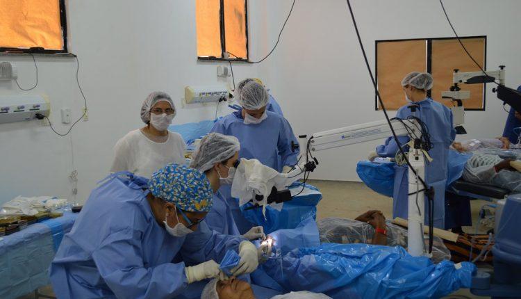 Mutirão de cirurgias de catarata está a todo vapor em Caetité