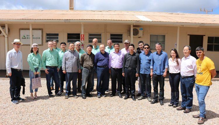 Prefeito Aldo Gondim recebeu em Caetité presidente da Bamin e representantes empresas Chinesas
