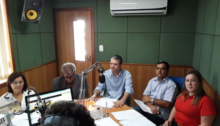 Prefeito Aldo Gondim faz balanço dos 15 primeiros meses de governo em entrevista à Rádio Educadora