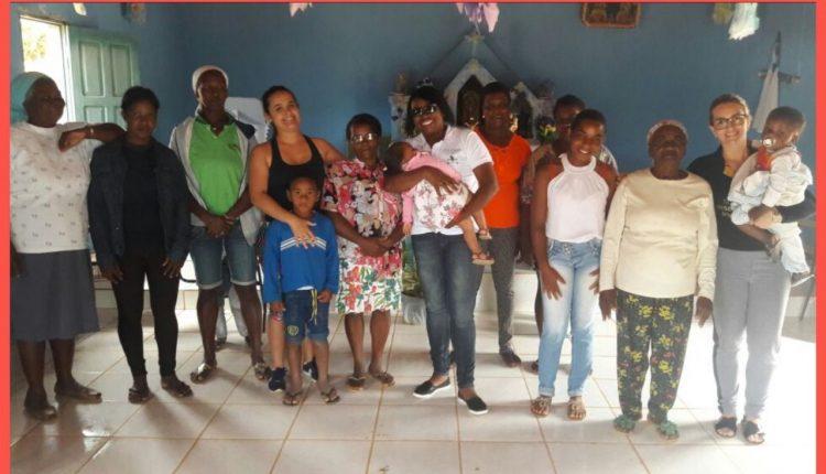 CRAS Rural realiza reunião com Mulheres de comunidade quilombola