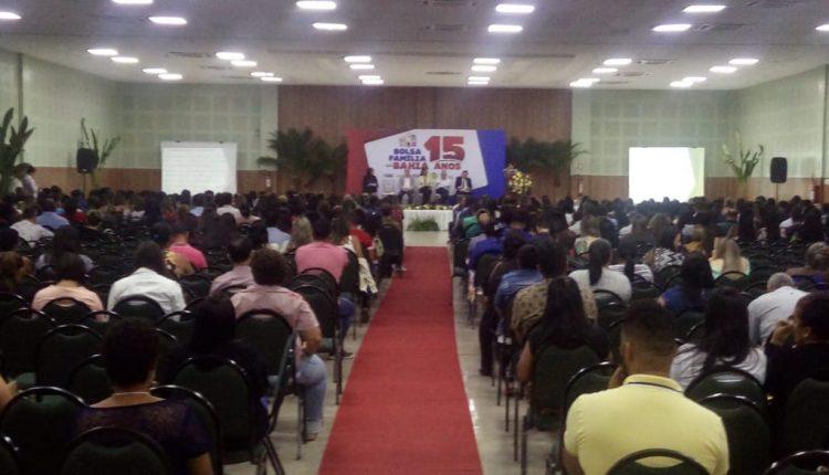 Evento comemora os 15 anos do Programa Bolsa Família na Bahia