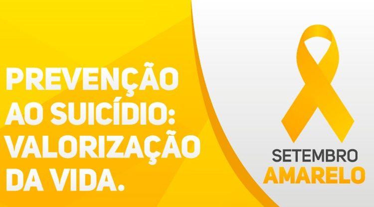Prefeitura de Caetité promove campanha Setembro Amarelo de prevenção ao suicídio