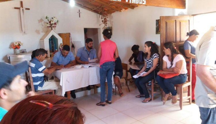 Comunidade Lagoa de Baixo recebe serviço itinerante do Ponto Cidadão