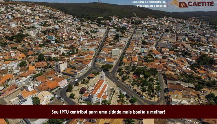 Carnês do IPTU começam a ser distribuídos aos contribuintes de Caetité