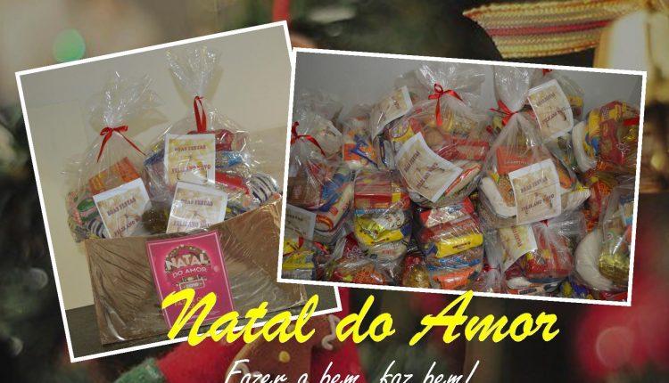 Campanha Natal do Amor arrecadou alimentos para famílias carentes