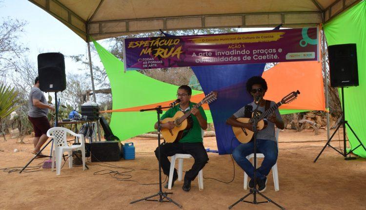 Prefeitura de Caetité realiza mais uma edição do Circuito Municipal de Cultura; dessa vez foi na comunidade de Mercês