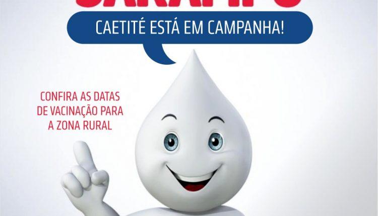 Prefeitura de Caetité inicia campanha de vacinação contra o sarampo