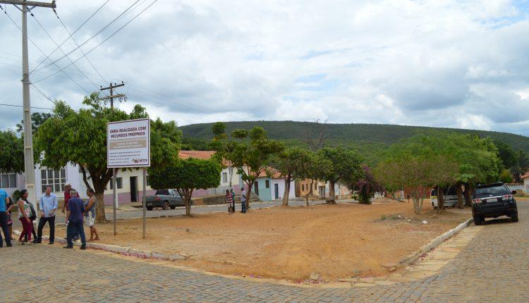 Prefeitura autoriza início das obras para construção de praça em Brejinho das Ametistas