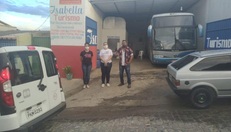 """Empresa """"Isabela Turismo"""" é abordada pela vigilância em saúde"""
