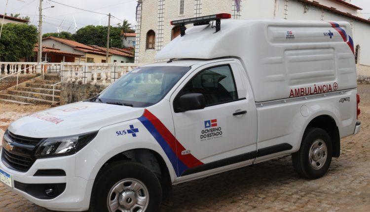 Prefeitura de Caetité recebe nova ambulância modelo S10 para o município