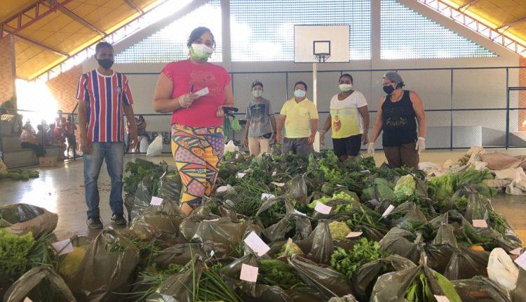 Prefeitura de Caetité entrega alimentos adquiridos pelo PAA para associações de bairro